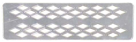 Picture of Grille with diamond pattern