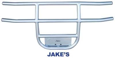 Picture of Jake's front brush guard, stainless