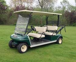 Picture of Used - 2009 - Electric - Club Car Villager 4 seater - Green
