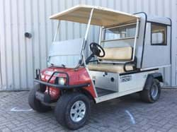 Picture of Used - 2011 - Electric - Club Car Carryall 252 - Red